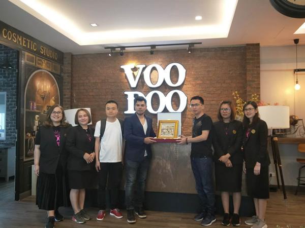 天意集团代表赴泰国考察VOODOO公司