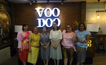 小资生活代表远赴泰国VOODOO总部深度参观学习交流